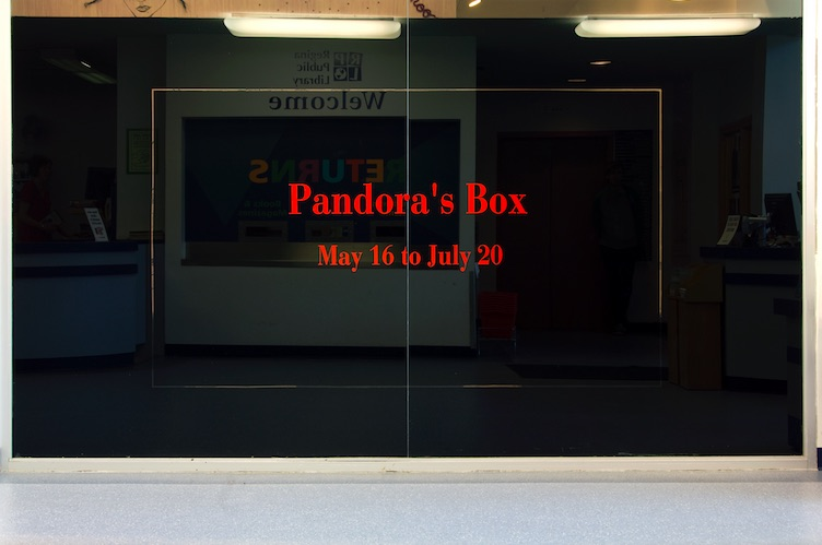 Pandora's Box installation shot, Dunlop Art Gallery, Regina, SK, 2008