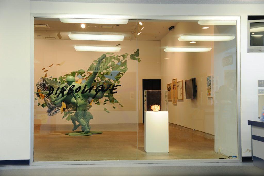 Diabolique installation shot, Dunlop Art Gallery, Regina, SK, 2009