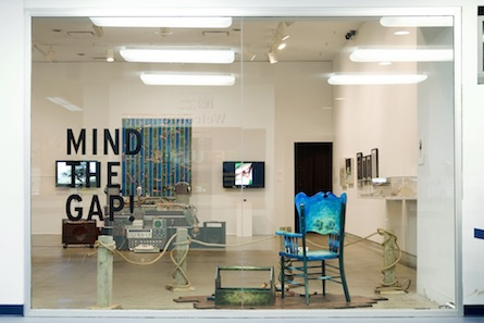 Mind the Gap installation shot, Dunlop Art Gallery, Regina, SK, 2009
