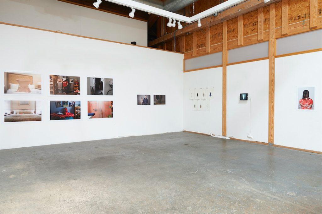 Composing Dwarfism installation shot, Space4Art, San Diego, 2014