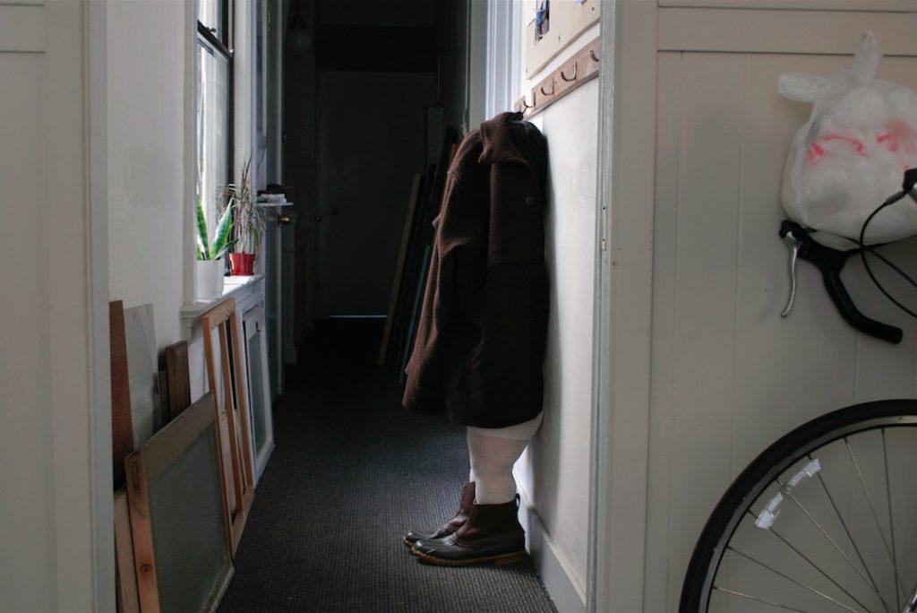 "Laura Swanson, Coat, 2005, inkjet print, 20 x 30"""