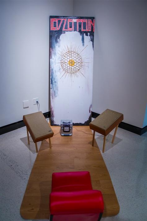 Darrin Martin, Radiolarian, 2007, sound sculpture, 10' x 5' x 7.5'
