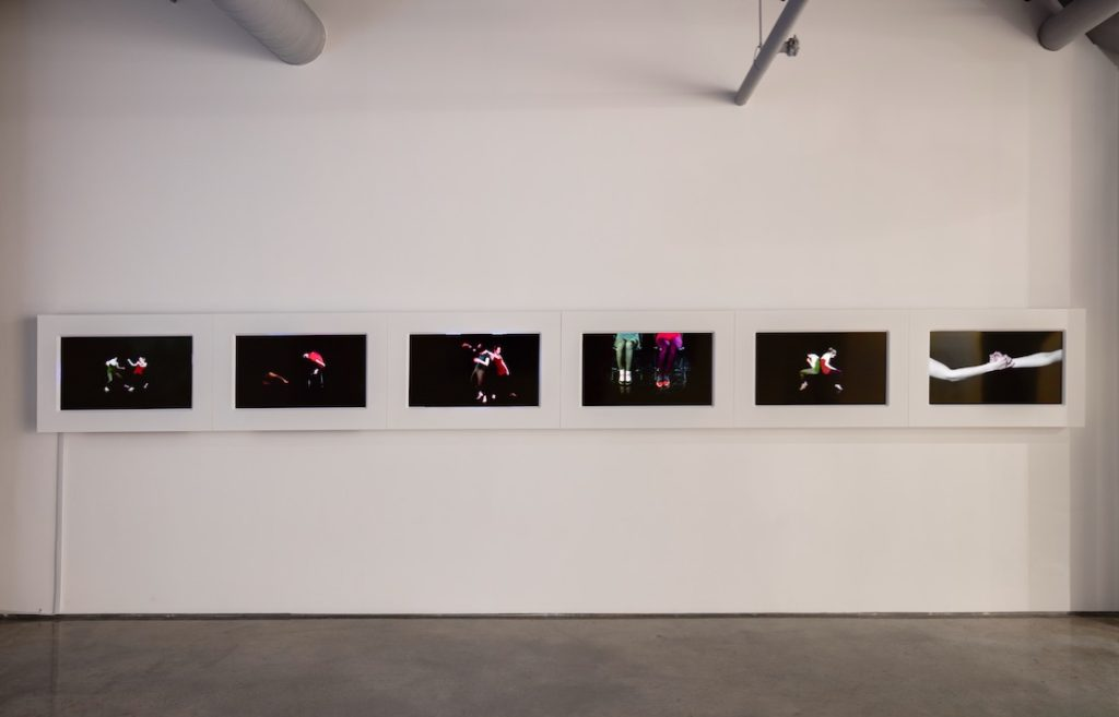 Ingrid Bachmann, The Gift, 2014, Six-channel video and sound installation