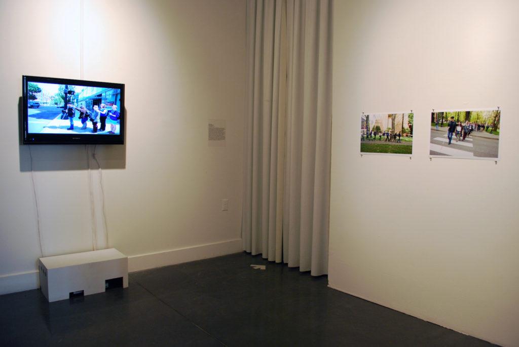 Medusa's Mirror installation shot, ProArts Gallery, Oakland, CA, 2011
