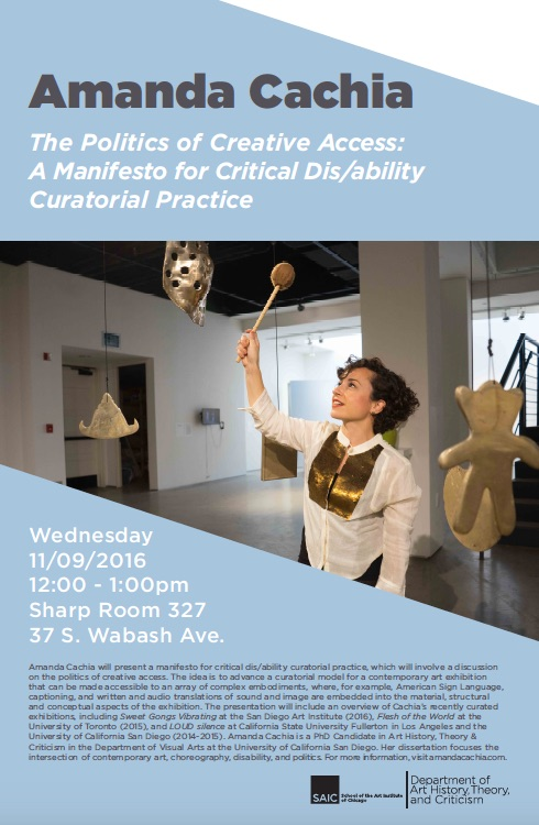 Link to Disability and/as Artistic Practice