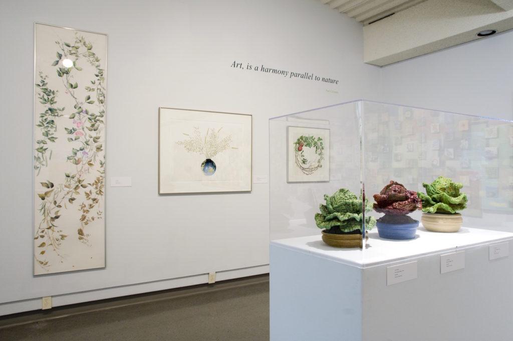 Garden Folk installation shot, Dunlop Art Gallery, Regina, SK, 2008