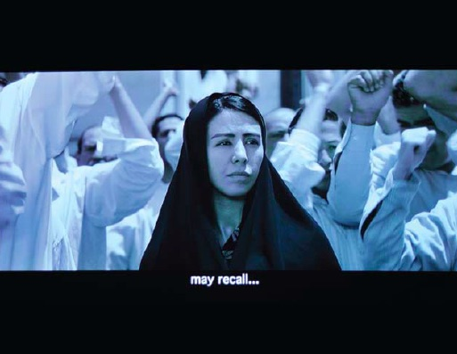 Shirin Neshat, Munis, 2008, High-definition video/DVD, (approx. 20 minutes), Courtesy of Gladstone Gallery, New York