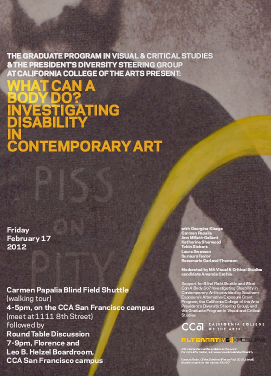 Link to What Can a Body Do? Investigating Disability & Contemporary Art