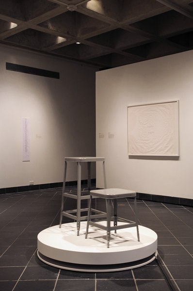 Laura Swanson, Display with Stools, 2012, Sculpture, Variable sizes