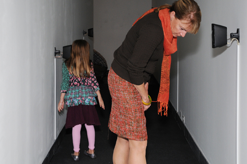 What Can A Body Do? opening reception, Cantor Fitzgerald Gallery, Haverford College, PA, 2012