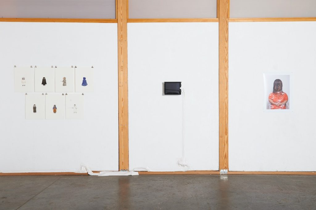 Composing Dwarfism installation shot, Space4Art, San Diego