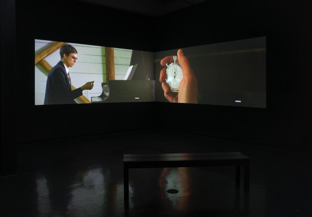 "Alison O'Daniel, Hearing (4'33"" scene) from The Tuba Thieves, 2014, Film, 9:00"