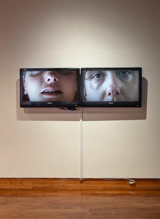 Noëmi Lakmaier, In Progress, 2010, Two-channel video installation, 19:45 minutes