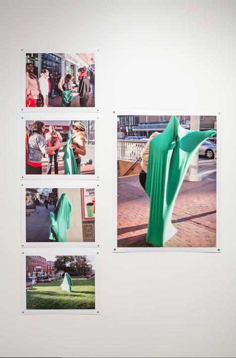 Sara Hendren, Unknown Armature: Body socks, 2012, photographs
