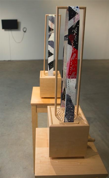 Margaret Noble, A Score for Conversation, 2014, Interactive sound sculpture, Dimensions variable